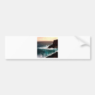 Water Black Rock Coast.jpg Bumper Sticker