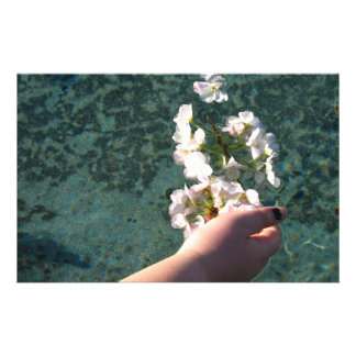 Water Blossoms Stationery