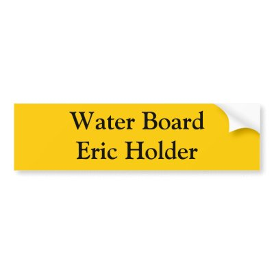 waterboard eric holder