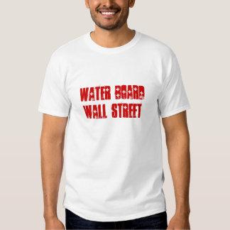 Water Board Wall Street T-shirt
