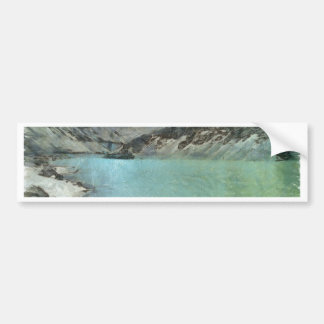 Water body in the Himalayas Bumper Sticker