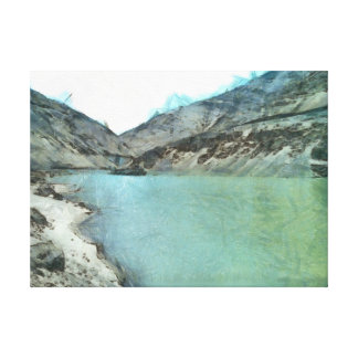 Water body in the Himalayas Canvas Print