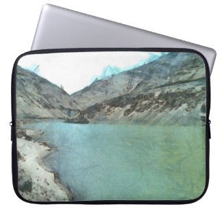 Water body in the Himalayas Computer Sleeve
