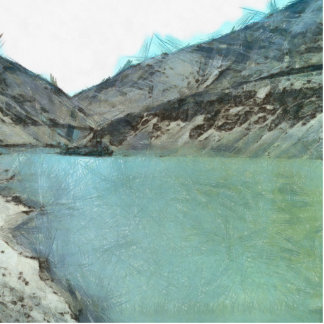Water body in the Himalayas Cutout