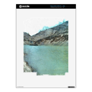 Water body in the Himalayas Decal For iPad 2