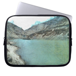 Water body in the Himalayas Laptop Sleeve