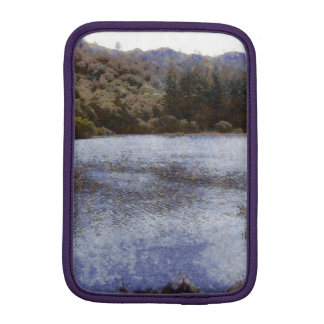 Water body surrounded by greenery iPad mini sleeve