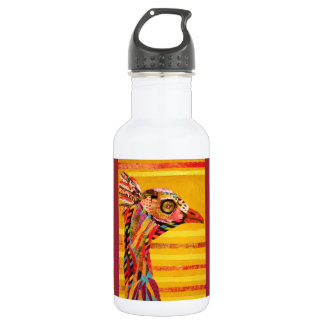 Water Bottle 18 ounce with Cool Bird 18oz Water Bottle