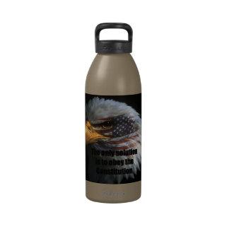 Water Bottle 32oz w/ American Eagle Face w/ The