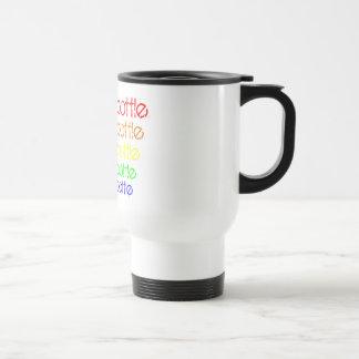 Water Bottle 5 times fast - Wottle Bottle rainbow Travel Mug
