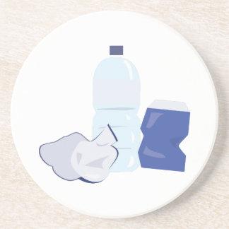 Water Bottle Drink Coaster