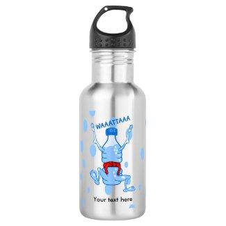 Water Bottle Karake Attack Waattaa Joke 18oz Water Bottle