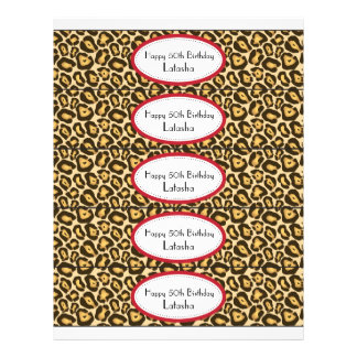 """Water Bottle Labels 