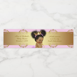 f76ebee908 Water Bottle Labels,Sarah's baby shower,pink gold Water Bottle Label