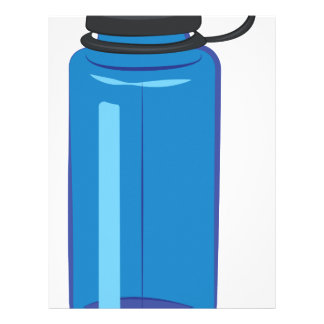 Water Bottle Letterhead