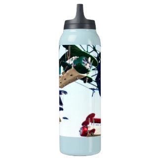 Water bottle of airplane in amusement park