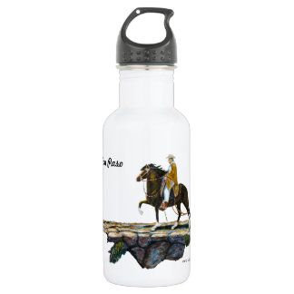 Water bottle, Peruvian Mountain Trail Stainless Steel Water Bottle