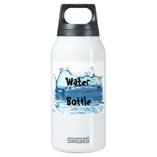 Water Bottle(Picture of Water) Thermos Bottle