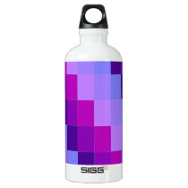 water bottle,purple pattern water bottle