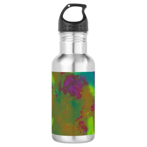 water bottle quot tie dye quot design 18oz water bottle zazzle