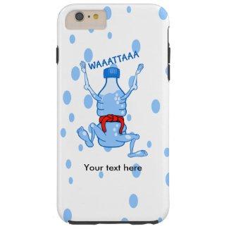 Water Bottle Wearing Red Karate Belt Tough iPhone 6 Plus Case
