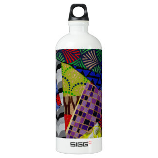 Water Bottle with Beautiful Collage