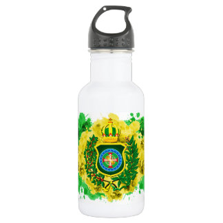 Water bottle with Imperial flag Aquarelada
