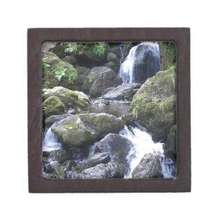 Water Boulder Moutain Falls Premium Keepsake Boxes