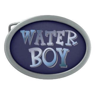 Water Boy Oval Belt Buckle