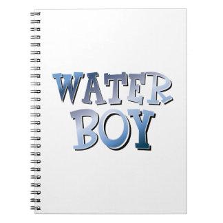 Water Boy Spiral Notebook