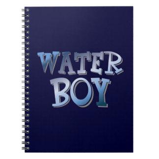Water Boy Spiral Notebooks