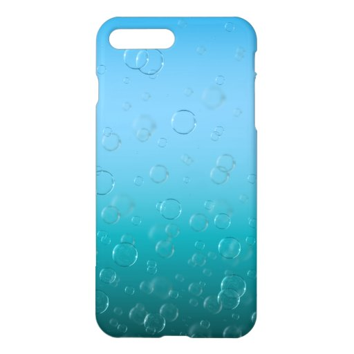 Water Bubbles iPhone Case
