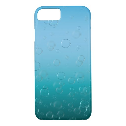 Water Bubbles Phone Case