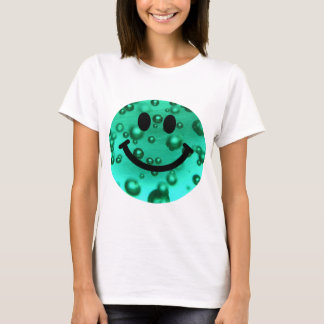 Water bubbles smiley T-Shirt