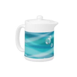 Water Bubbles Teapot