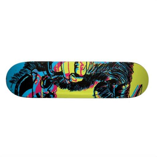 Water Buff Skate Custom Skate Board