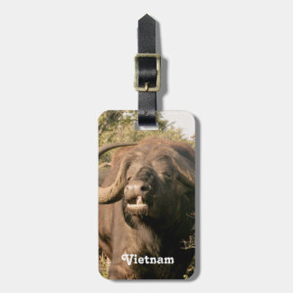 Water Buffalo in Vietnam Tag For Bags
