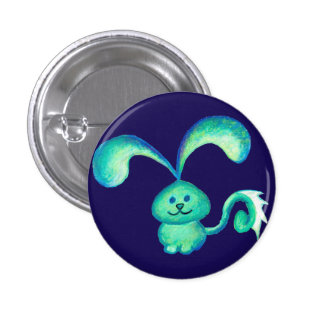 """""""Water Bunny"""" Button"""