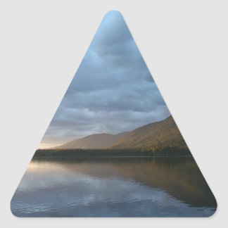 Water Calm After The Storm Triangle Sticker