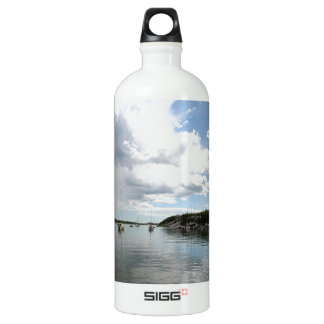 Water Calm Before The Storm Aluminum Water Bottle