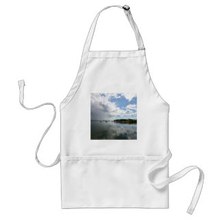 Water Calm Before The Storm Adult Apron