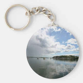 Water Calm Before The Storm Keychain