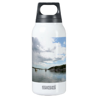 Water Calm Before The Storm Thermos Water Bottle