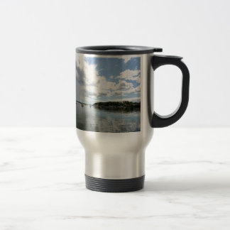Water Calm Before The Storm Travel Mug