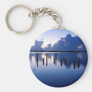 Water Calm Port Orange Florida Keychain