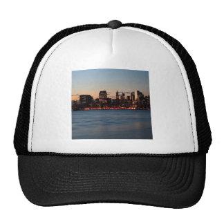 Water Canary Wharf Night Sky Trucker Hat
