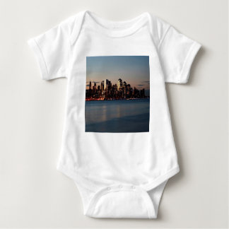 Water Canary Wharf Thames Baby Bodysuit