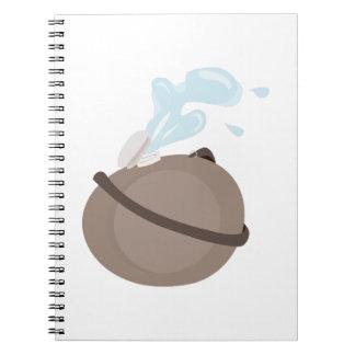 Water Canteen Spiral Notebook
