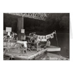 Water Carnival-1948 McMinnville Tennessee Greeting Cards