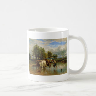 Water Carriers by Constant Troyon Coffee Mug